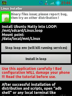 create loop device android