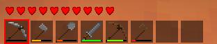kotal tools (klik 1 - 9 untuk memilih item)